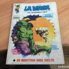 Cómics: LA MASA Nº 2 VOL 1 UN MONSTRUO ANDA SUELTO (ED. VERTICE) TACO 25 PTAS 1970 (COIM13). Lote 141820874