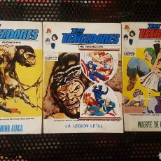 Cómics: COMICS - LOS VENGADORES 35, 36 Y 37 - EDITORIAL VERTICE - TACO - NEAL ADAMS. Lote 141829320
