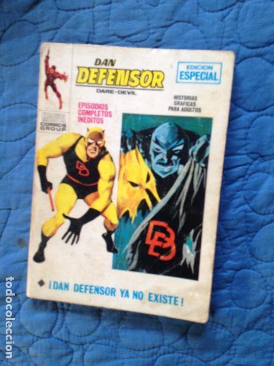 DAN DEFENSOR YA NO EXISTE-EDICION ESPRCIAL Nº19 (Tebeos y Comics - Vértice - Dan Defensor)