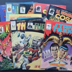 Cómics: LOTE 11 COMICS VERTICE / 4 FANTASTICOS / DAZZLER / KA ZAR / EL HOMBRE COSA / STAR TREK / DRACULA. Lote 142079358