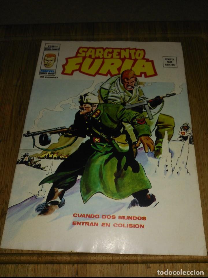 SARGENTO FURIA VOL.2 Nº 10 (Tebeos y Comics - Vértice - Furia)
