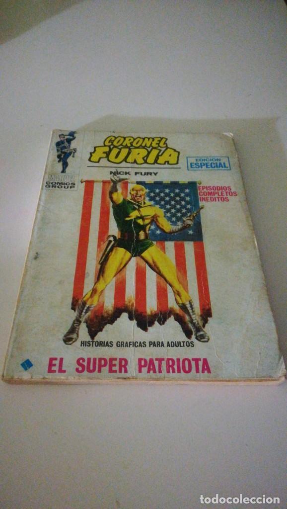 CORONEL FURIA EL SUPER PATRIOTA MARVEL COMICS GROUP N°6 EDICIONES VÉRTICE (Tebeos y Comics - Vértice - Furia)
