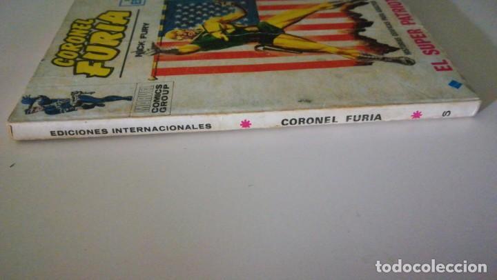 Cómics: Coronel Furia El Super patriota Marvel comics group n°6 Ediciones Vértice - Foto 3 - 142277150