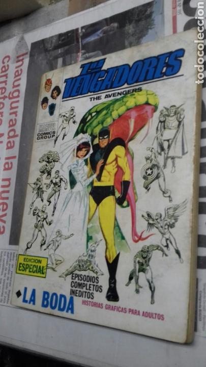 LOS VENGADORES. VERTICE.27 (Tebeos y Comics - Vértice - Vengadores)