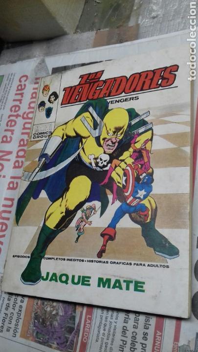 VERTICE.LOS VENGADORES. VERTICE. 50 (Tebeos y Comics - Vértice - Vengadores)