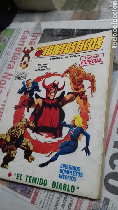LOS 4 FANTASTICOS. 16. VERTICE (Tebeos y Comics - Vértice - 4 Fantásticos)