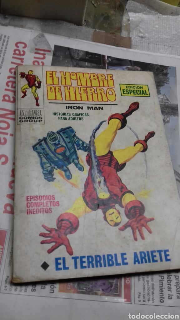 EL HOMBRE DE HIERRO. VERTICE. 17 (Tebeos y Comics - Vértice - Hombre de Hierro)