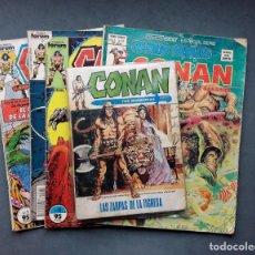 Cómics: LOTE 4 TEBEOS CONAN,VÉRTICE,FORUM... Lote 142415694