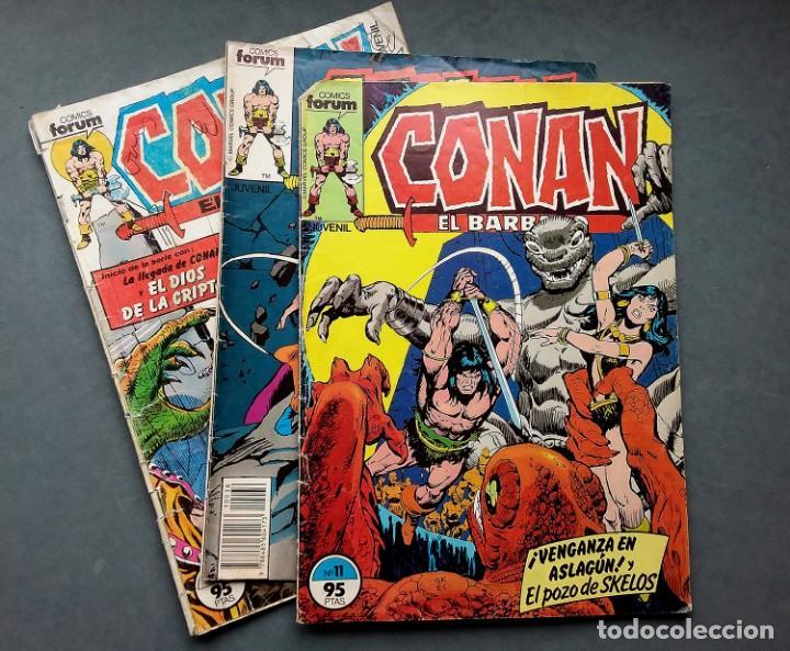 Cómics: LOTE 4 TEBEOS CONAN,VÉRTICE,FORUM.. - Foto 2 - 142415694