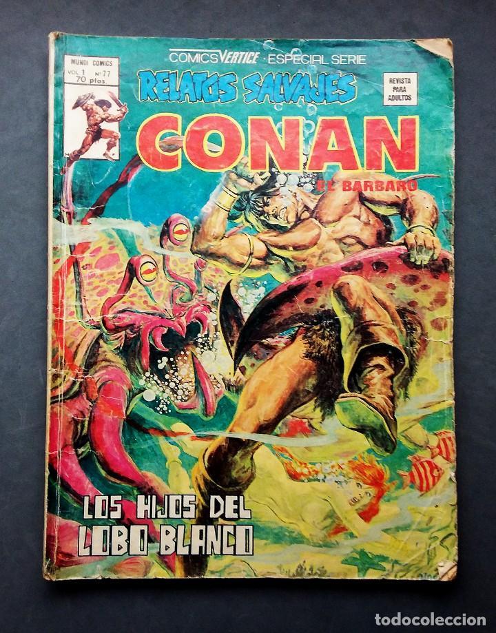 Cómics: LOTE 4 TEBEOS CONAN,VÉRTICE,FORUM.. - Foto 3 - 142415694