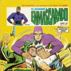 Cómics: EL HOMBRE ENMASCARADO-VÉRTICE- V-2 - Nº 11 -LOS SALTEADORES DE TANQUES-1980-MUY DIFÍCIL-LEA-4559. Lote 254429085