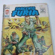 Cómics: SARGENTO FURIA VOL. 2 Nº 7, 1975, VERTICE CX01. Lote 142937066