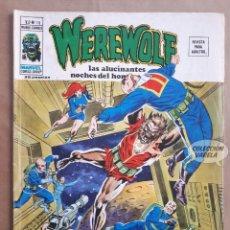 Cómics: WEREWOLF - Nº 18 - V 2 - VÉRTICE VOL 2 - JMV. Lote 143186662