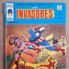 Cómics: LOS INVASORES Nº 7 - V 1 - VÉRTICE VOL 1 - JMV. Lote 143187114