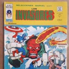 Cómics: LOS INVASORES Nº 8 - V 1 - VÉRTICE VOL 1 - JMV. Lote 143187226
