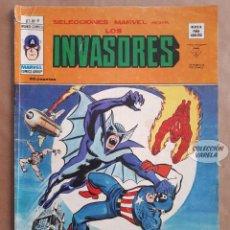 Cómics: LOS INVASORES Nº 9 - V 1 - VÉRTICE VOL 1 - JMV. Lote 143187386