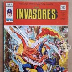 Cómics: LOS INVASORES Nº 10 - V 1 - VÉRTICE VOL 1 - JMV. Lote 143188562
