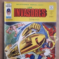 Cómics: LOS INVASORES Nº 11 - V 1 - VÉRTICE VOL 1 - JMV. Lote 143189110