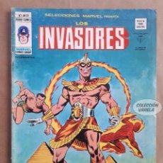 Cómics: LOS INVASORES Nº 21 - V 1 - VÉRTICE VOL 1 - JMV. Lote 143189854
