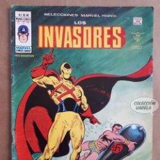 Cómics: LOS INVASORES Nº 36 - V 1 - VÉRTICE VOL 1 - JMV. Lote 143190202