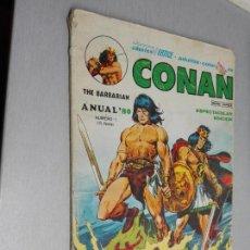 Cómics: CONAN ANUAL 80 Nº 1 / VÉRTICE 1979. Lote 143247274