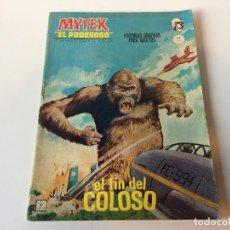 Cómics: MYTEK EL PODEROSO EL FIN DEL COLOSO N2. Lote 143250850
