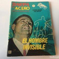 Cómics: ZARPA DE ACERO EL HOMBRE INVISIBLE N1. Lote 143251134