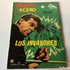 Cómics: ZARPA DE ACERO LOS INVASORES N6. Lote 143251866