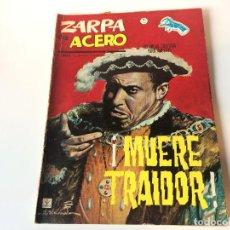 Cómics: ZARPA DE ACERO MUERE TRAIDOR N12. Lote 143252422