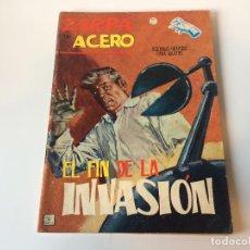 Cómics: ZARPA DE ACERO EL FIN DE LA INVASION N17. Lote 143253166