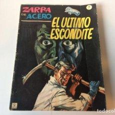 Cómics: ZARPA DE ACERO EL ULTIMO ESCONDITE N21. Lote 143254162