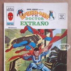 Cómics: SPIDERMAN Y EL DOCTOR EXTRAÑO Nº 63 - SUPER HEROES - V 2 - VÉRTICE VOL 2 - JMV. Lote 143297366