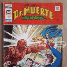 Cómics: DR. MUERTE Y NAMOR Nº 67 - SUPER HEROES - V 2 - VÉRTICE VOL 2 - JMV. Lote 143298234