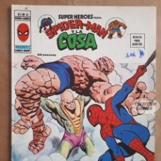 Cómics: SPIDERMAN Y LA COSA Nº 61 - SUPER HEROES - V 2 - VÉRTICE VOL 2 - JMV. Lote 143298838