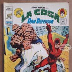 Cómics: LA COSA Y DAN DEFENSOR Nº 41 - SUPER HEROES - V 2 - VÉRTICE VOL 2 - JMV. Lote 143299042
