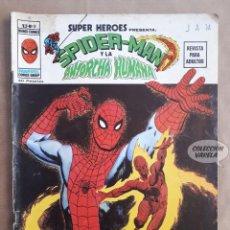 Cómics: SPIDERMAN Y LA ANTORCHA HUMANA Nº 9 - SUPER HEROES - V 2 - VÉRTICE VOL 2 - JMV. Lote 143301278