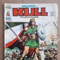 Cómics: KULL EL CONQUISTADOR Nº 20 - SUPER HEROES - V 2 - VÉRTICE VOL 2 - JMV. Lote 143301942