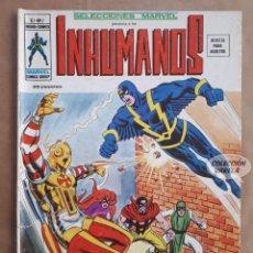 Comics: LOS INHUMANOS Nº 2 - SELECCIONES MARVEL - V 1 - VÉRTICE VOL 1 - JMV. Lote 143302362