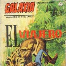 Cómics: GALAXIA- ILUSTRADA- Nº 8 - EL VIAJERO- GRAN XAVIER ROMEU-APASIONANTE-MUY DIFÍCIL- BUENO-LEAN-9828. Lote 143344940