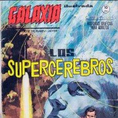 Cómics: GALAXIA -ILUSTRADA- Nº 9- LOS SUPERCEREBROS- 1965-GRAN XAVIER RUMEU-BUENO-DIFÍCIL-LEAN-9829. Lote 143346530