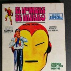 Cómics: EDICIONES INTERNACIONALES EL HOMBRE DE HIERRO IRON MAN NÚMERO 12 EDICIONES VERTICE MARVEL. Lote 143396134