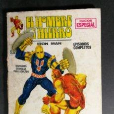 Comics: EDICIONES INTERNACIONALES EL HOMBRE DE HIERRO IRON MAN NÚMERO 3 EDICIONES VERTICE MARVEL. Lote 143396186