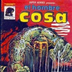 Cómics: SUPER HÉROES- MUNDICÓMICS- Nº 3- EL HOMBRE COSA - 1981- MOONEY-WIACEK-CORRECTO-DIFÍCIL-LEAN-9832. Lote 143481726