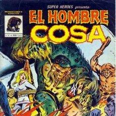 Cómics: SUPER HÉROES- MUNDICÓMICS- Nº 4- EL HOMBRE COSA - 1982- MOONEY-WIACEK-BUENO-DIFÍCIL-LEAN-9833. Lote 143487506