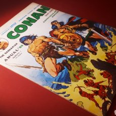 Cómics: MUY BUEN ESTADO CONAN ANUAL 80 MUNDI COMICS VERTICE. Lote 143574140