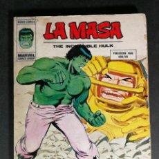 Cómics: V. VOLUMEN 1 LA MASA HULK Nº 35 VÉRTICE MARVEL. Lote 143579534
