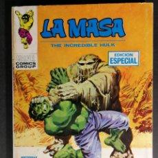 Cómics: MUY BUEN ESTADO V. VOLUMEN 1 LA MASA HULK Nº 15 VÉRTICE MARVEL. Lote 143579862