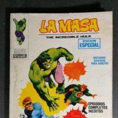 Cómics: MUY BUEN ESTADO V. VOLUMEN 1 LA MASA HULK Nº 3 VÉRTICE MARVEL. Lote 143580142