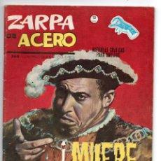 Cómics: ZARPA DE ACERO Nº 12 - ¡MUERTE TRAIDOR! - VERTICE GRAPA. Lote 143623610