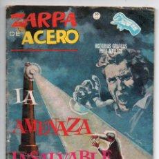 Cómics: ZARPA DE ACERO Nº 15 - LA AMENAZA INVISIBLE - VERTICE GRAPA. Lote 143624174